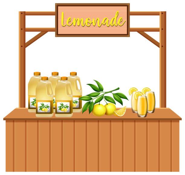 24 Hours Of Lemons >> Best Lemonade Stand Illustrations, Royalty-Free Vector ...