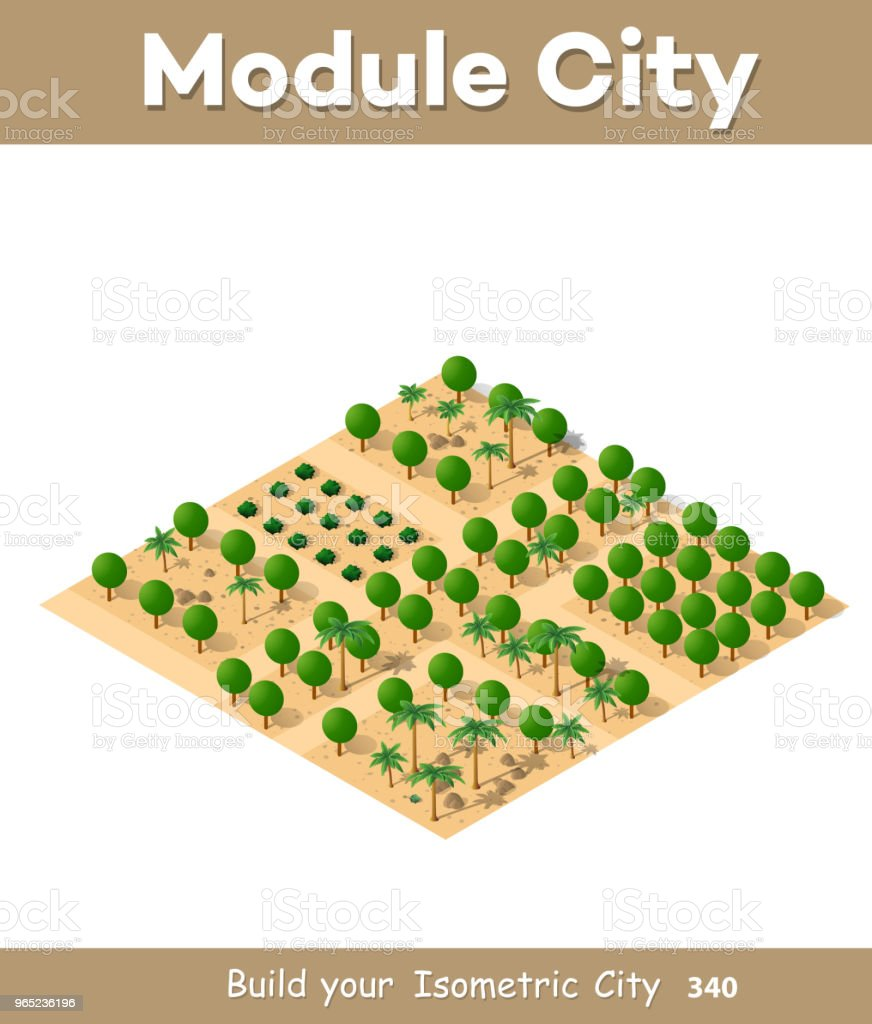 An isometric natural royalty-free an isometric natural stock vector art & more images of africa