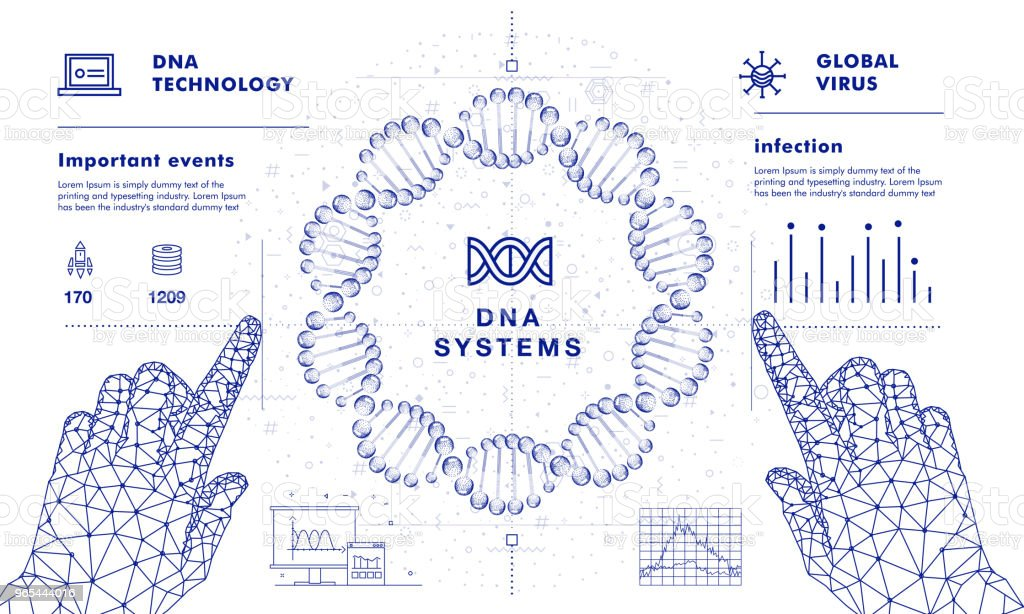 DNA analysis on medical systems royalty-free dna analysis on medical systems stock vector art & more images of abstract