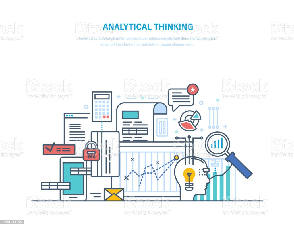 Analytical thinking logical analysis reasoning searching effective analytical thinking logical analysis reasoning searching effective solution creative thinking royalty ccuart Gallery