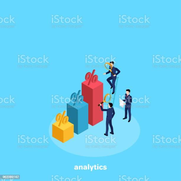 Analityka 9 - Stockowe grafiki wektorowe i więcej obrazów Rzut izometryczny
