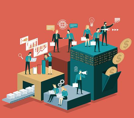 Analyze - Business team