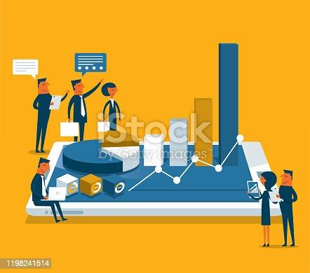 istock Analyze data - Business people 1198241514