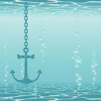 Anchor and underwater