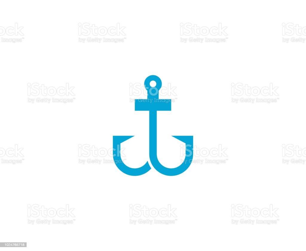 Anker-Symbol – Vektorgrafik