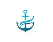 istock Anchor icon vector illustration 1051742608