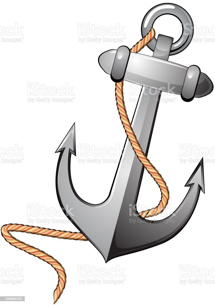 Anchor symbol royalty-free anchor symbol stock vector art & more images of anchor - vessel part
