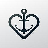 anchor. eps 10 vector file