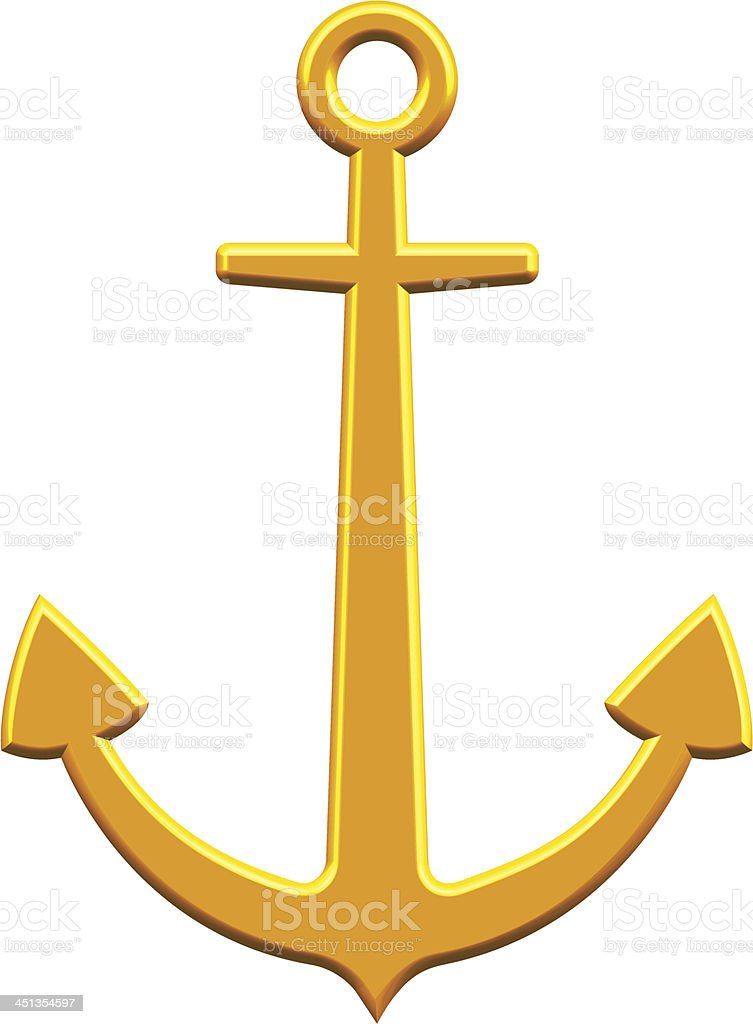 Anchor royalty-free anchor stock vector art & more images of anchor - vessel part