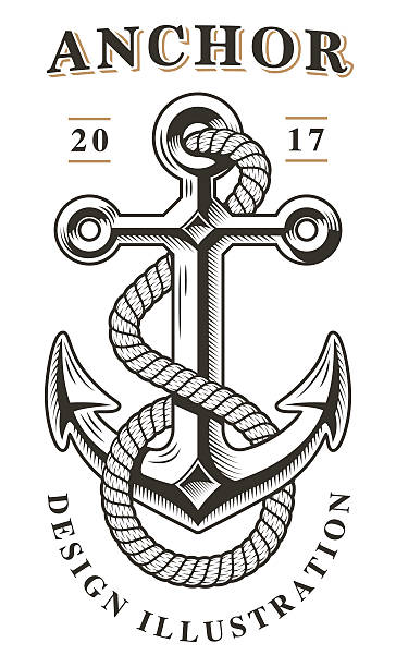 Anchor vector vector art illustration