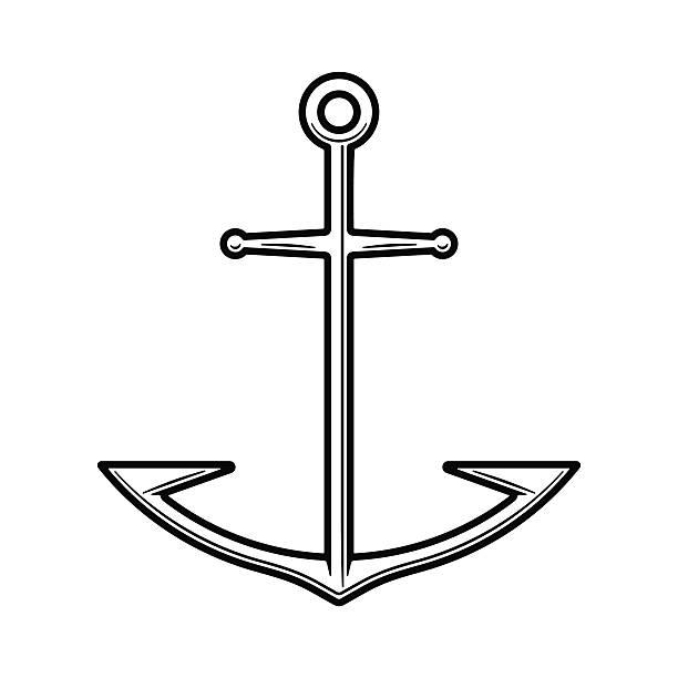 Anker Tattoo Vorlagen Vektorgrafiken Und Illustrationen Istock