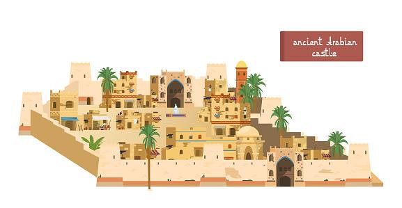 Ancient Arabian Castle