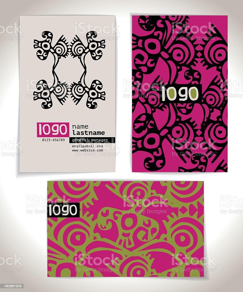 Ancienne Carte De Visite Design Cliparts Vectoriels Et Plus D