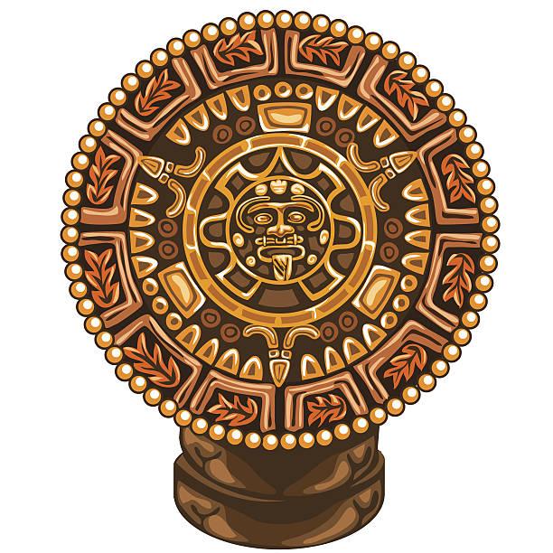 Calendario Azteca Vectores.Calendario Azteca Vectores Libres De Derechos Istock