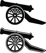 ancient cannon symbol