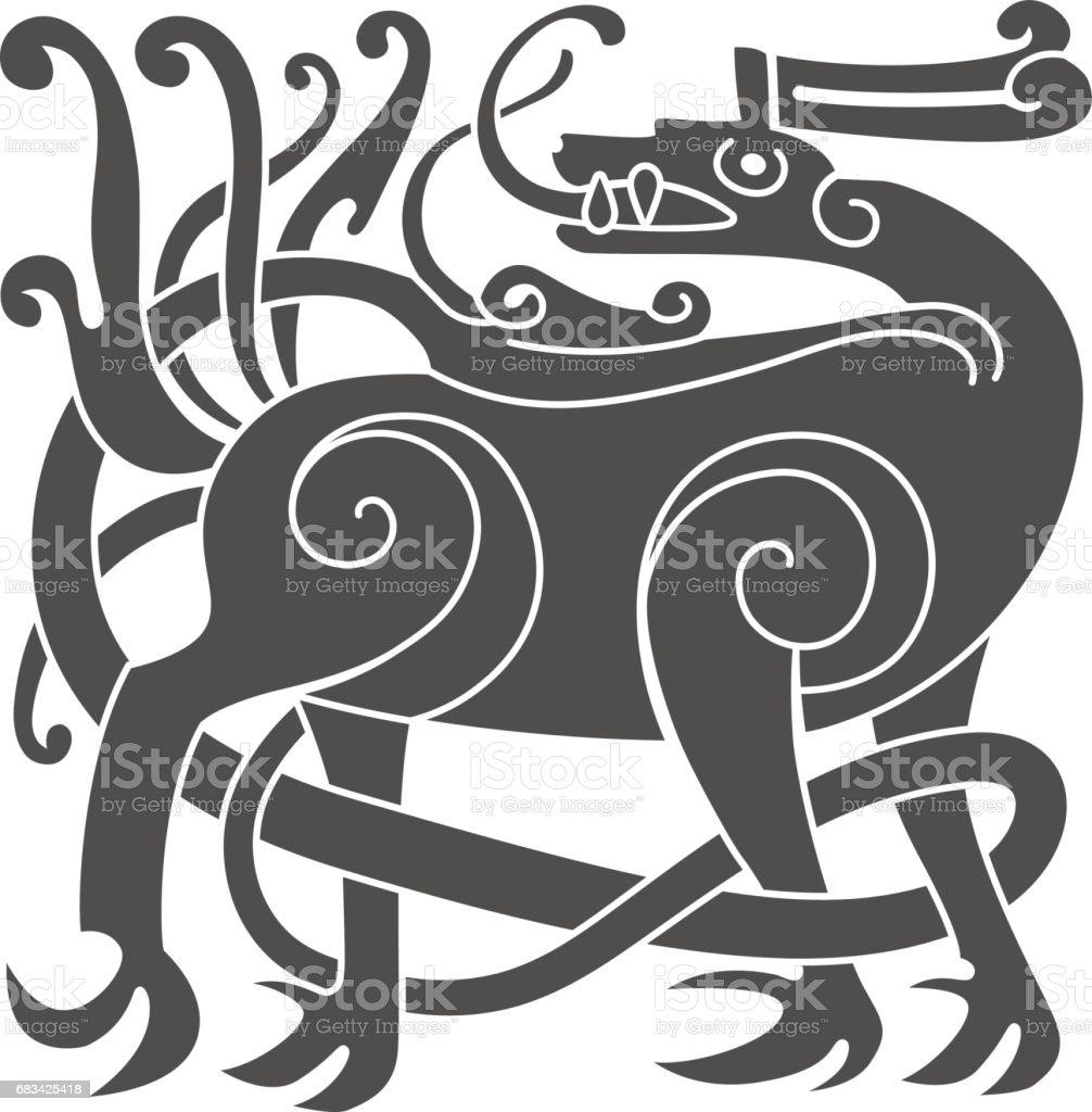 Celtic Deer Clip Art Best Graphic Sharing