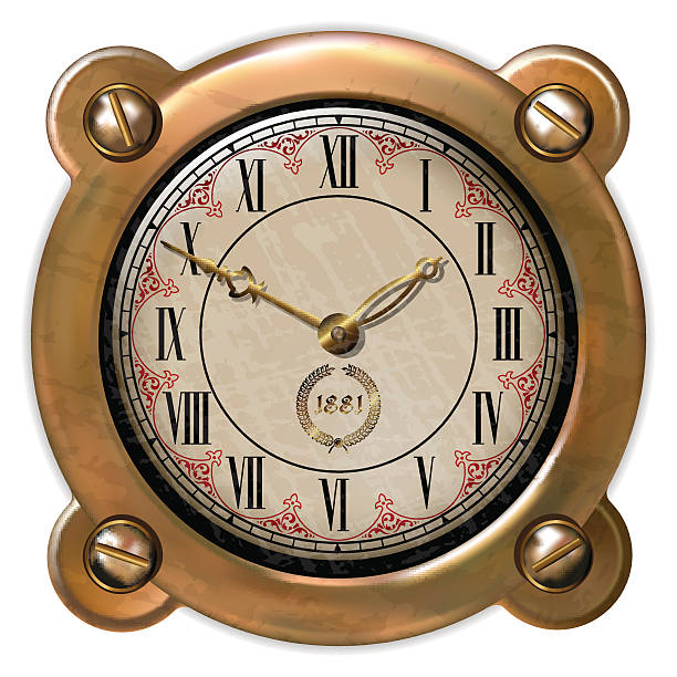 Royalty Free Steampunk Clock Clip Art, Vector Images ...