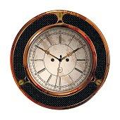 Ancient clock vector