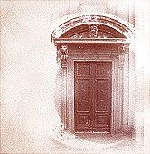 Ancient Door In Milan, Italy