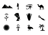 Ancient egyptian icons.