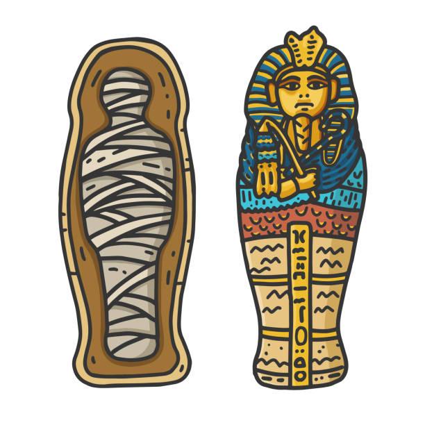 1,444 Egyptian Mummy Illustrations & Clip Art - iStock