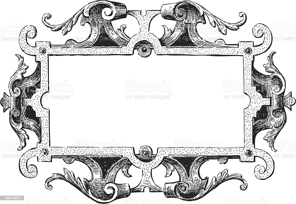 Ancient Frame Stock Illustration Download Image Now Istock