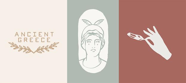 Ancient Greek Aesthetics. Olive, Hera, feather