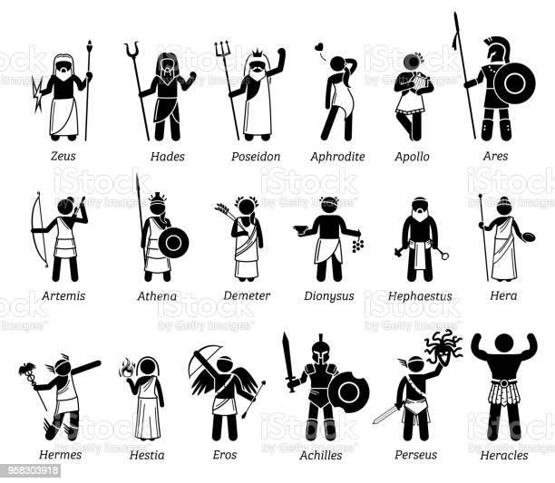 Greek Gods Free Vector Art 6 546 Free Downloads