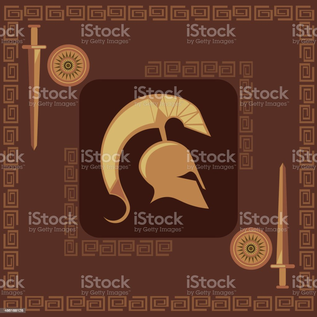 Ancient greek symbols weapons spartan stock vector art more ancient greek symbols weapons spartan royalty free ancient greek symbols weapons spartan stock vector buycottarizona
