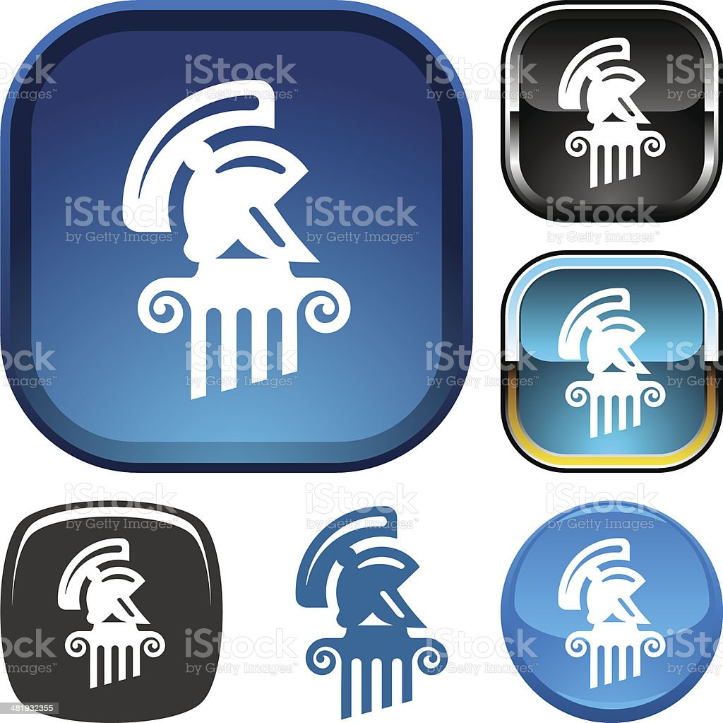 Ancient history icon royalty-free ancient history icon stock vector art & more images of ancient