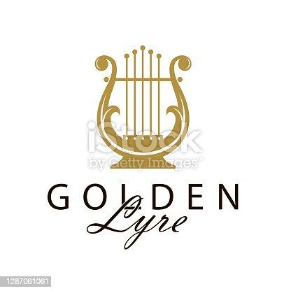 istock ancient lyre icon 1287061061