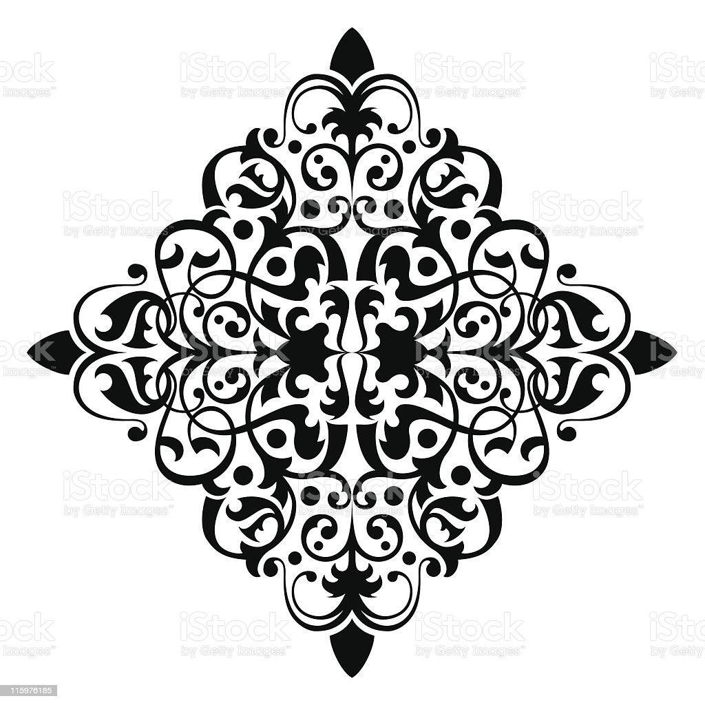 Ancient ornament royalty-free stock vector art