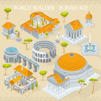Map elements for world builder cartographers