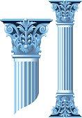 Ancient stone columns