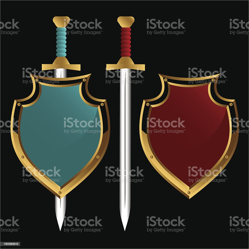 Ancient weapon. royalty-free stock vector art