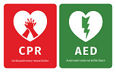 istock CPR and AED symbols 918024598