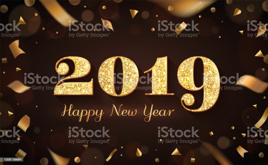 2019 and happy new year banner royalty free 2019 and happy new year banner stock