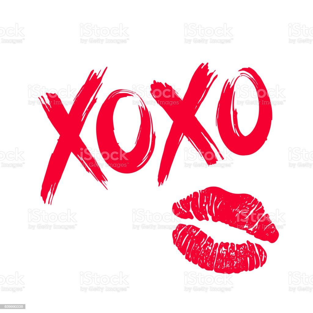 Royalty Free Lipstick Kiss Clip Art, Vector Images ... Lipstick Kiss Vector