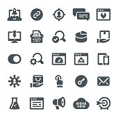 SEO, marketing, business, icons, web, e-commerce