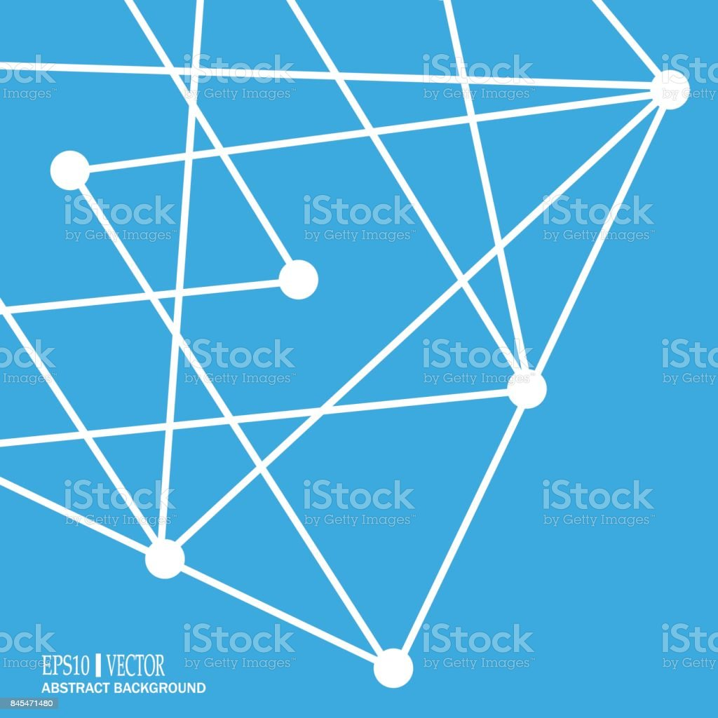 Dna Und Neuronen Vektor Molekulare Struktur Verbundene