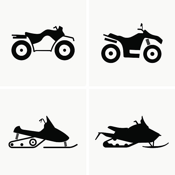 ATV and Snowmobile Available in high-resolution and several sizes to fit the needs of your project. quadbike stock illustrations