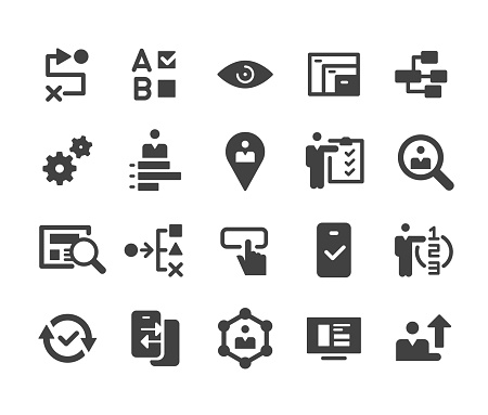 UI and UX Icons - Classic Series