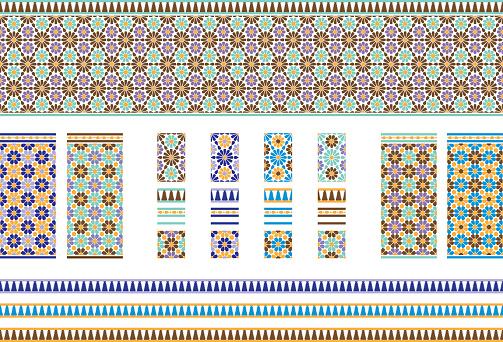 Andalusian Spanish, Moroccan Tiles
