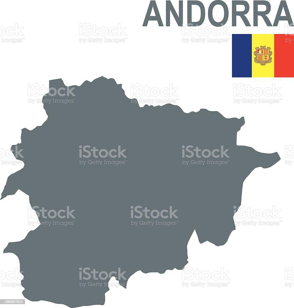 Andorra vector art illustration