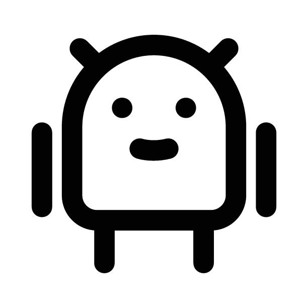 android robot image stock illustrations