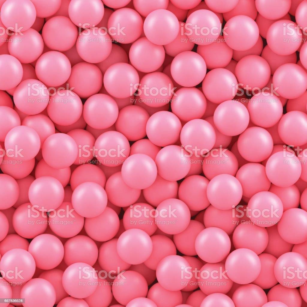Сandy balls background vector art illustration