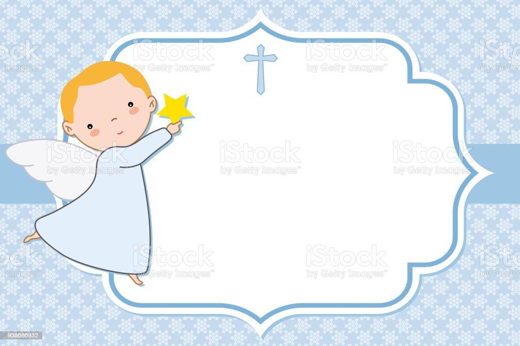 angel boy - ilustração de arte vetorial