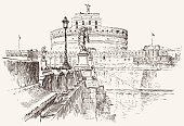 Angel Castle sketch