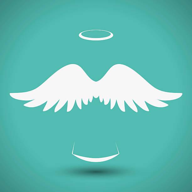 Angel design. vector art illustration