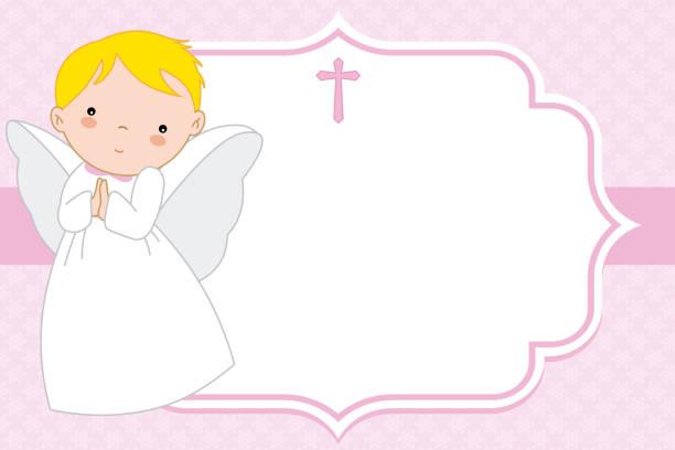 angel girl – artystyczna grafika wektorowa